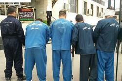 دستگیری اعضای باند سارقان جواهرات