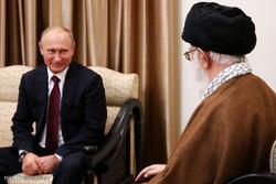 دیدار رئیس جمهوری روسیه با رهبر انقلاب