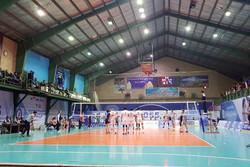 مسابقه والیبال شهرداری ورامین و نوشیدنی شمس