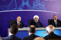 Iran, Russia, Azerbaijan interactions to boost regional stability: Rouhani