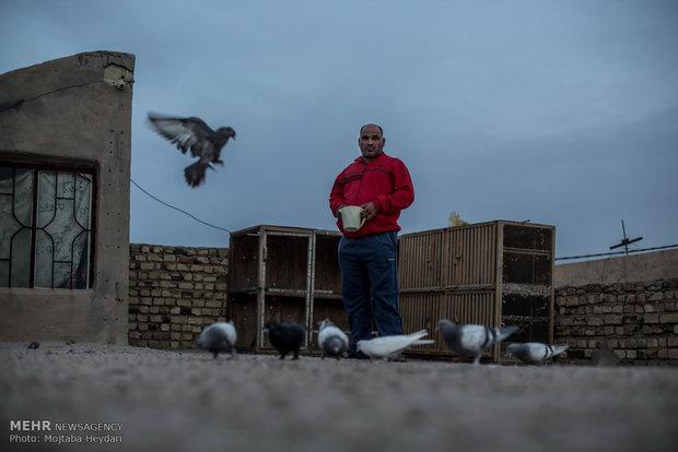خادم الحسین علی کاظم علی  يلعب دور شمر