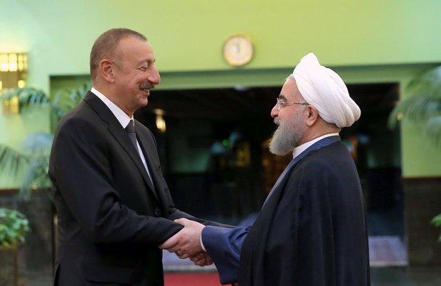 Cumhurbaşkanı Ruhani'den İlham Aliyev'e tebrik mesajı