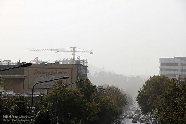 تلوث الهواء في مدينة سنندج (غرب ايران)