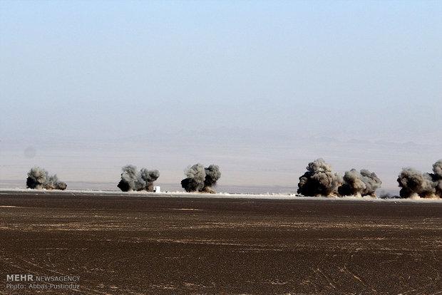 عملیات هواپیماهای بدون سرنشین مجهز به موشک های نقطه زن و برد بلند