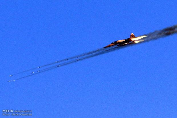 İran Hava Kuvvetleri'nden büyük füzeli tatbikat