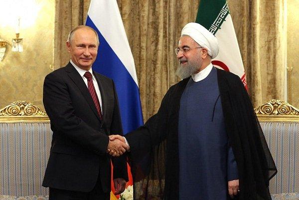 President Rouhani, President Putin meet in Tehran before summit
