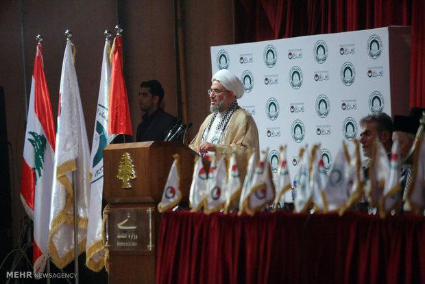 المؤتمر الثاني لإتحاد علماء المقاومة في بيروت