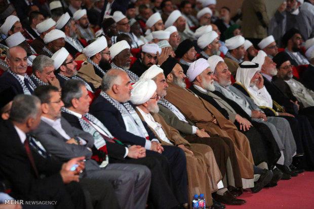 المؤتمر الدولي الثاني لاتحاد علماء المقاومة يستأنف فعالياته في يومه الثاني ببیروت