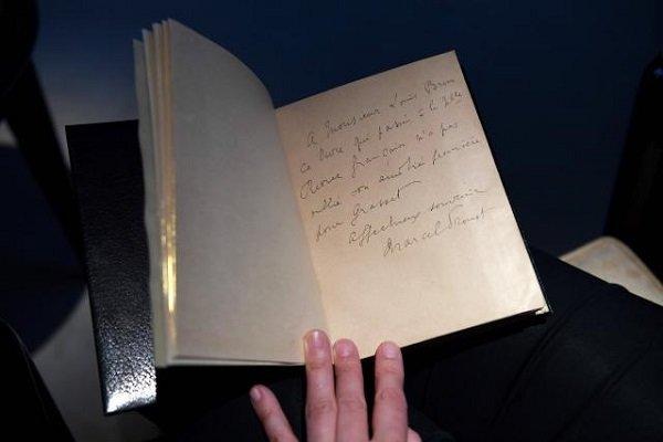 نسخه نادر کتاب پروست بیش از نیم میلیون یورو فروخته شد