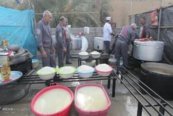 موکب حضرت علی اکبر گرگان با ۳۲ خادم در کربلا خدمات رسانی می کند