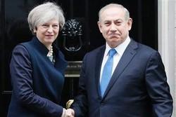 نتنياهو يستجدي دعم أعمال الشغب في ايران من بريطانيا