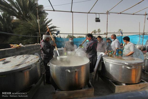 خادمین و موکب داران خراسان جنوبی در کاظمین