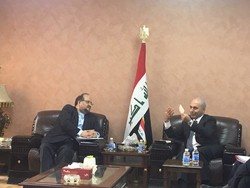 Industry min. meets with senior Iraqi officials