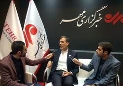 جابری انصاری از غرفه خبرگزاری مهر بازدید کرد