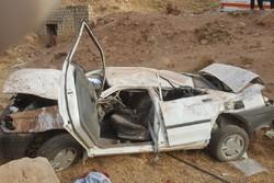 سانحه جاده ای در محور قدیم ساوه - تهران یک کشته برجای گذاشت