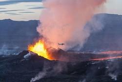 أكبر بركان في أيسلندا على وشك الانفجار فوق أوروبا