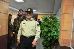 سردار اشتری در مرز شلمچه