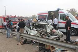 مصدومیت دو شهروند در حادثه رانندگی