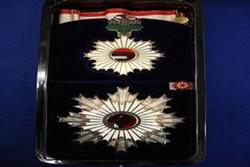 عالی ترین نشان حکومتی ژاپن به منوچهر متکی اعطا می شود