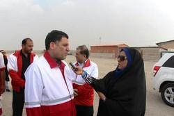 ۲۲۰۰ امدادگر ایرانی به عراق اعزام شدند