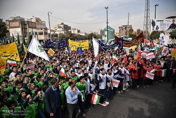 راهپیمایی روز 13 آبان در مشهد