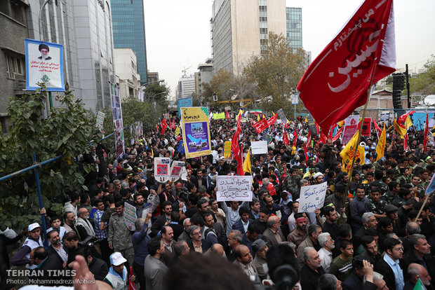 Iranians commemorate U.S. embassy takeover