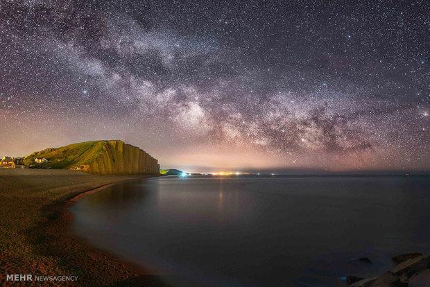 عبور زمني جميل لنجوم مجرة درب التبانة /فيديو