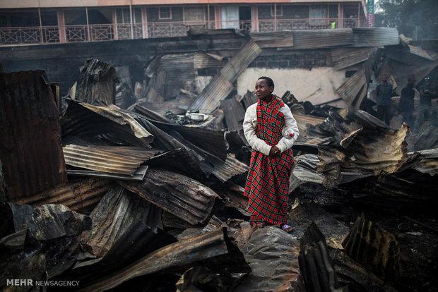 افزایش تلفات ناآرامی های کنیا