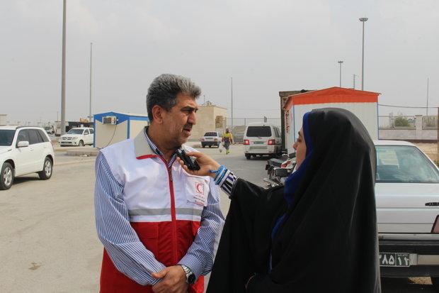واکسینه شدن ۴۳۰۰ خوزستانی متقاضی حج از سوی هلال احمر