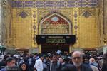 زائران اربعین حسینی در نجف اشرف