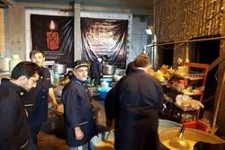 پذیرایی از ۱۲۳ هزار زائر اربعین در موکب امام رضا(ع) شهرکاظمین