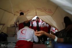 بازدید رئیس جمعیت هلال احمر از پایانههای مرزی ایران و عراق و خدمترسانی به زائران اربعین حسینی