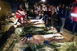 انتقال یک مصدوم واژگونی اتوبوس سوادکوه به بیمارستان فیروزکوه