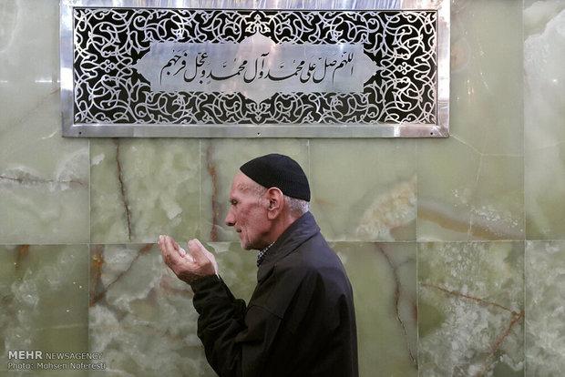 الزوار الإيرانيون في مدينة سامراء