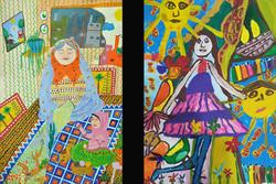 نقاشان منتخب جشنواره ژاپن