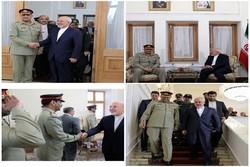 فرمانده ارتش پاکستان با ظریف دیدار کرد