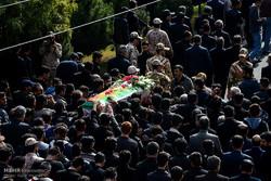 مراسم تشییع پیکر سرباز شهید امیر قربانی از شهدای مرزبانی چالدران