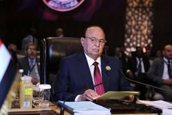«عبد ربه منصور هادی» در قاهره با سفیر آمریکا در مصر دیدار کرد