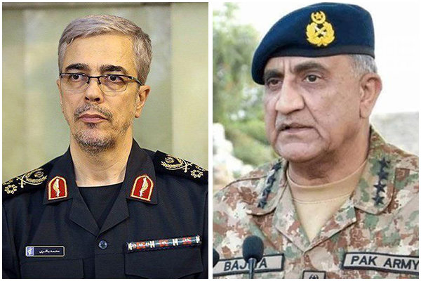 Iran, Pakistan urge tightening defense coop.