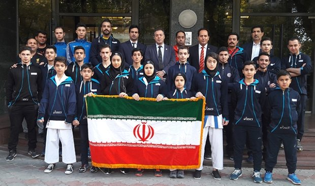 Iran wins title at Shotokan Karate-do C'ship