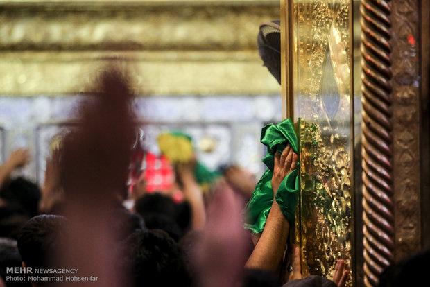 أجواء حرم علي ابن ابي طالب (ع) قُبيل زيارة الأربعين