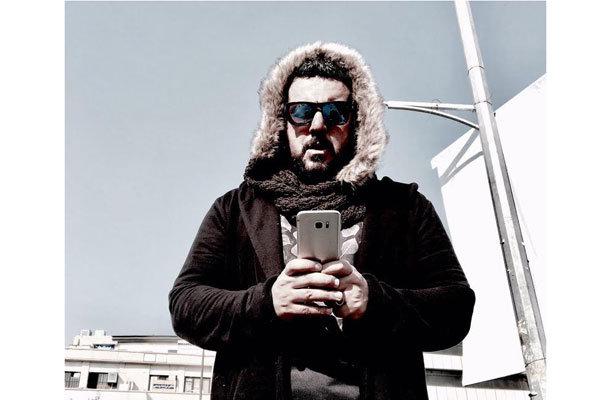محسن کیایی جلوی دوربین «جشن دلتنگی» رفت