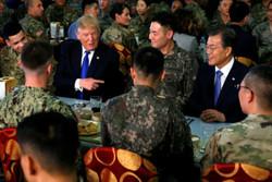 ترامپ در کره جنوبی