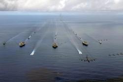 ۳ ناوگروه هواپیمابر آمریکا در غرب پاسیفیک رزمایش برگزار میکنند