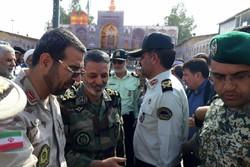 بازدید فرمانده ارتش از مرز مهران
