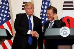 Trump, Güney Kore Devlet Başkanı Moon ile görüşecek