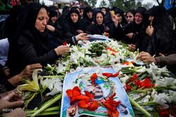 تشییع پیکر شهید منصور میرحسینی