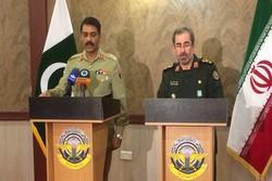 نشست خبری سخنگوی ارتش پاکستان و معاون ستاد کل نیروهای مسلح