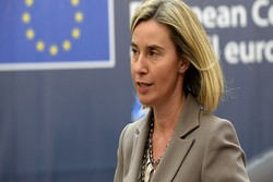 Mogherini 'extremely worried' about Turkish Op in Syria's Afrin