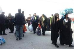 بازگشت زائران در مرز شلمچه